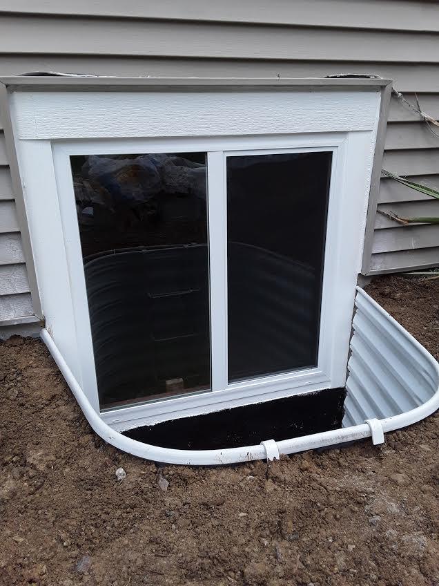 Egress Window Installation in Littleton, CO